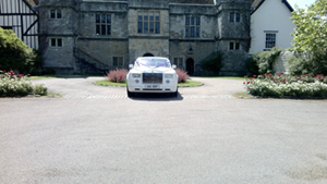 Our Rolls Royce Phantom hire at Venue 6