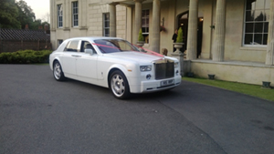 Our Rolls Royce Phantom hire at Venue 7